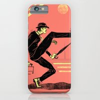 iPhone & iPod Case featuring Silly Walk by Dushan Milic