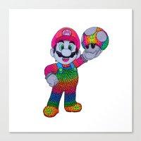 Mario Bros Canvas Print