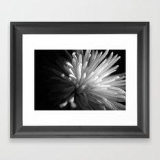 {beauty in darkness} Framed Art Print