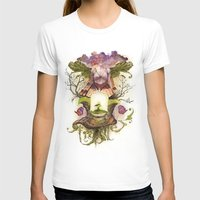The Genesis Womens Fitted Tee White SMALL
