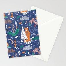 Bear camp Stationery Cards