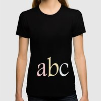 ABC Womens Fitted Tee Black SMALL