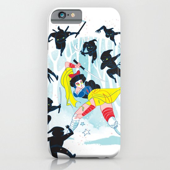 Tales of a Snow Geisha iPhone & iPod Case