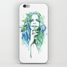 Blue Lana iPhone & iPod Skin