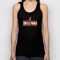Turtle Power Unisex Tank Top