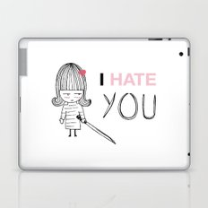 I Hate You / Kill Bill Laptop & iPad Skin