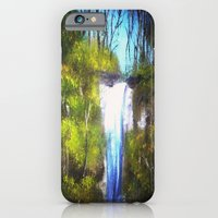 iPhone & iPod Case featuring Waterfall by Kr_design