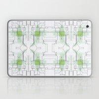 Circuit Board Green Repe… Laptop & iPad Skin