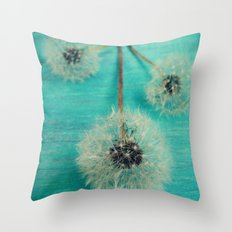 Three Wishes Throw Pillow