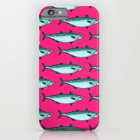 iPhone Cases featuring mackerel pattern by smallDrawing