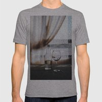 Water Mens Fitted Tee Athletic Grey SMALL