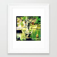 Balinese Goddess Framed Art Print