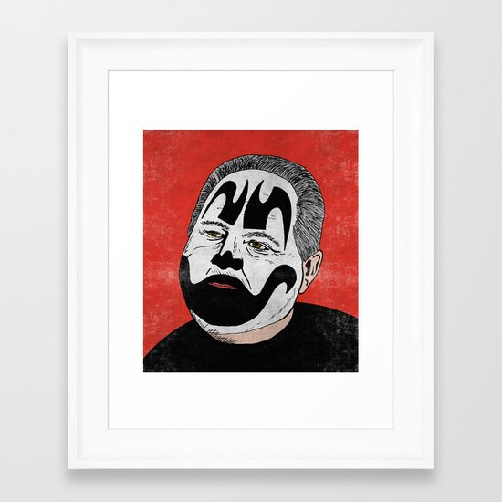 Rush Juggalaugh Framed Art Print