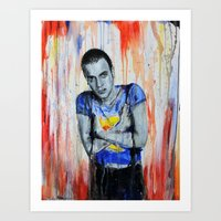 Choose Life  - Mark Renton/  Trainspotting Art Print