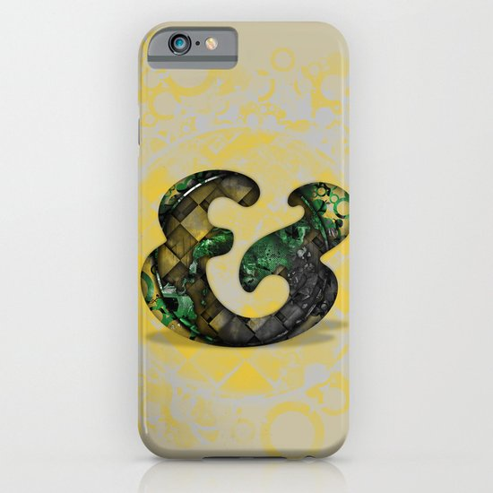 Ampersand Series - Cooper Std Typeface iPhone & iPod Case