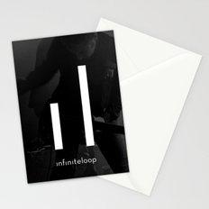 infiniteloop art Stationery Cards