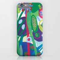 iPhone & iPod Case featuring Secret garden I  by Milanesa