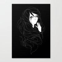 Speechless Canvas Print