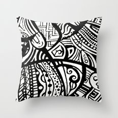 Abstractish 1  Throw Pillow