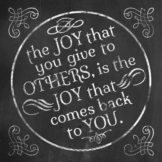 Give Joy  Art Print