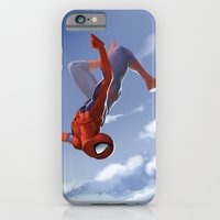 iPhone & iPod Case featuring Web Head by Yvan Quinet