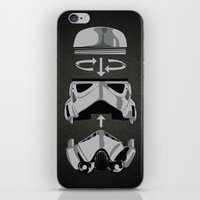 construct-a-trooper. iPhone & iPod Skin