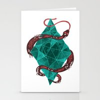 Mystic Crystal Stationery Cards