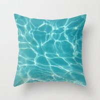 Throw Pillow featuring Water by Whitney Retter