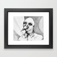 Birdman Framed Art Print