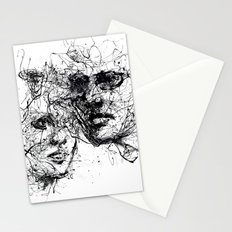 our lines, our story, it isn't a linear path Stationery Cards