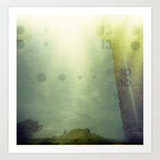 Holga Accident Art Print
