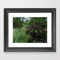 Thornthwaite Bridge Framed Art Print