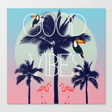 GOOD VIBe Canvas Print
