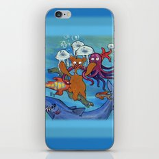 Out of reality. iPhone & iPod Skin