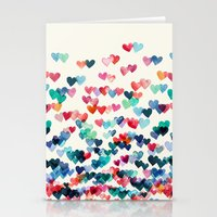 Heart Connections - Wate… Stationery Cards