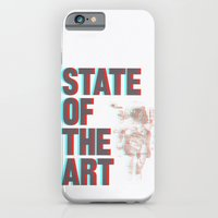 iPhone & iPod Case featuring STATE OF THE ART by Ruth Hannah