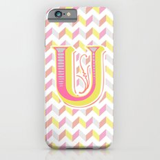 Letter U iPhone 6 Slim Case