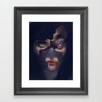 Under Her Skin III Framed Art Print