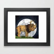 Lion Hart Framed Art Print