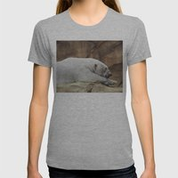 Polar Bear Womens Fitted Tee Athletic Grey SMALL