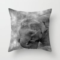Hi Way Calf  Throw Pillow