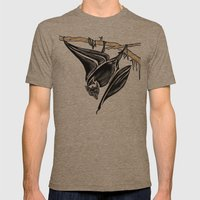 It's a Bat Man............... Mens Fitted Tee Tri-Coffee SMALL