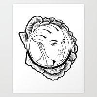 Mass Effect. Liara T'soni Art Print