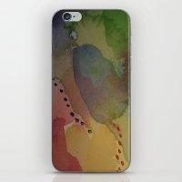 Watercolor Abstract Mini… iPhone & iPod Skin