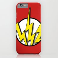 iPhone & iPod Case featuring Flash by Msimioni