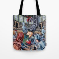 Tote Bag featuring The Grand Inquisition by Nathan Spoor