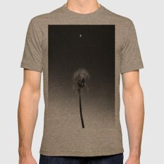 Dandelion Fly Mens Fitted Tee Tri-Coffee SMALL