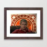 Living with Sherlock Holmes Framed Art Print