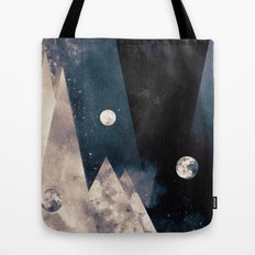 Escape, from planet earth Tote Bag