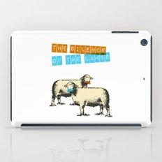 The silence of the lambs iPad Case